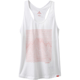 Prana Graphic Sleeveless Shirt Women white